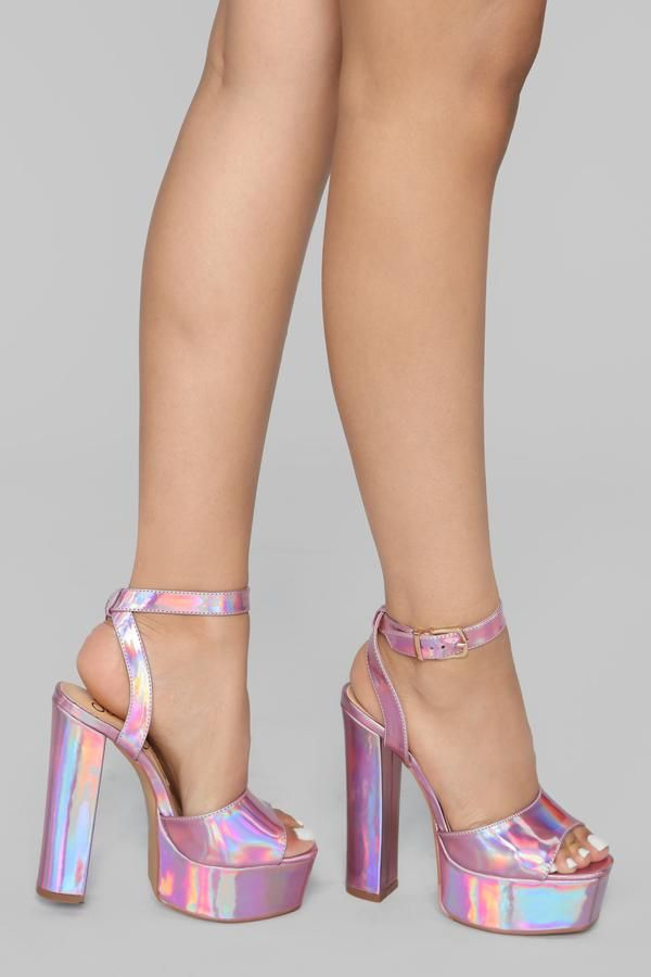 a2066b7a879 I Know I Can Heel - Pink Iridescent