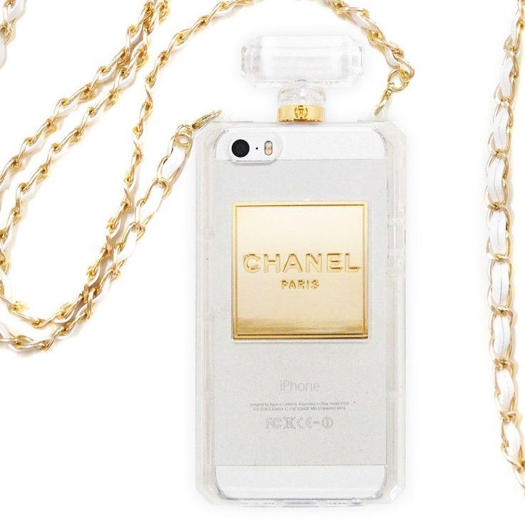 Kryt Chanel Parfém pro iPhone 5/5s průhledný #case #kryt #iphone