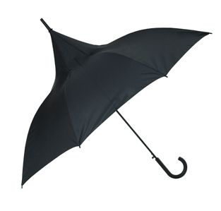 Classic Black Ladies Umbrella - Go on then, stand out from the crowd... if you dare! The Classic Black 'Witch' umbrella nods its design head to the traditional shape of a witch's hat. It's a stylish, practical accessory and makes a delightful gift. With a UV (Ultra Violet) protective layer the Classic Black umbrella makes a stunning parasol/fashion accessory, protecting you from the sun's harmful rays as well as the rain. The Classic Black umbrella is super strong as it boasts our…