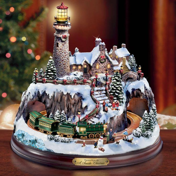 17 Best Images About Christmas~~ Thomas Kinkade On