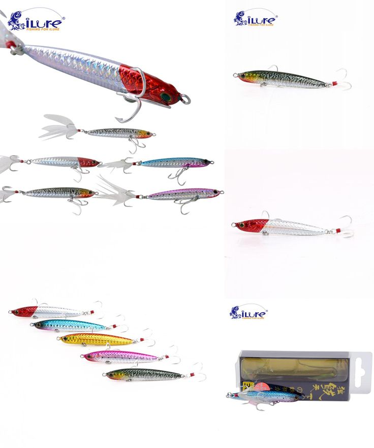 [Visit to Buy] iLure pencil bait Spanish mackerel fishing rod with vmc hook 7cm 20g minnow bass fishing tackle artificial bait jigging pesca #Advertisement