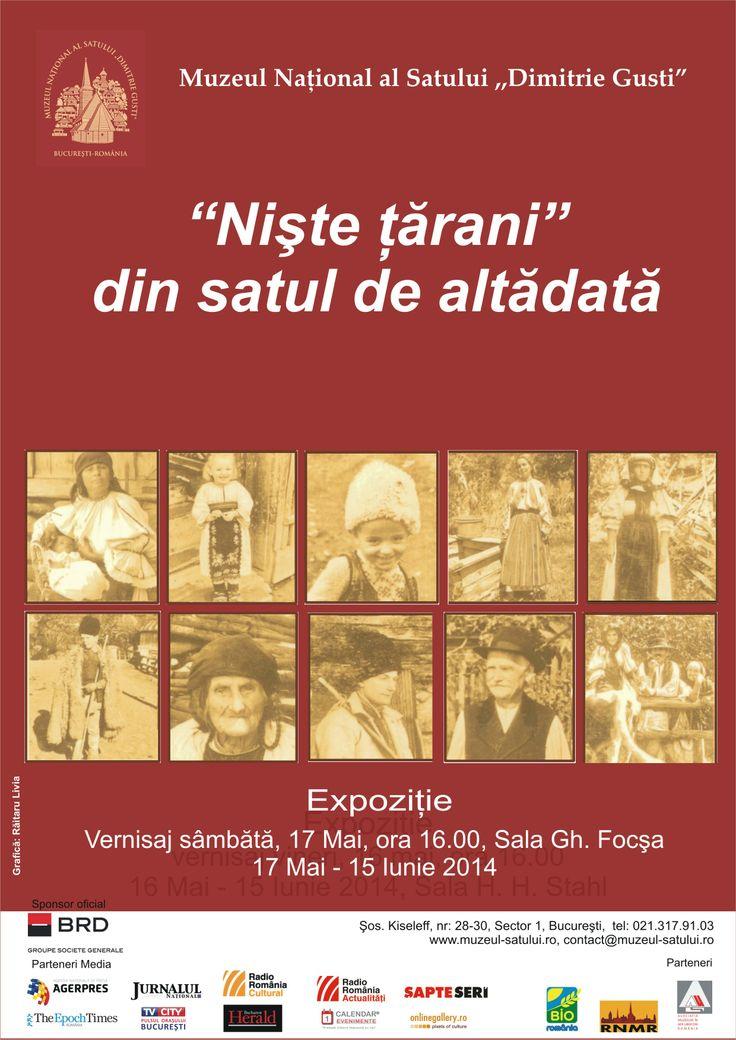 """""""Niste tarani"""" din satul de altadata sala Gh. Focsa, 17 mai, ora 16.00"""