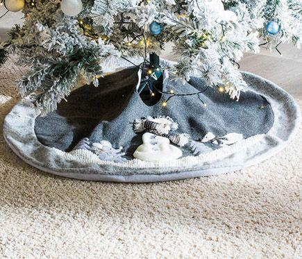 Pie De Arbol De Plata 105cm Leroy Merlin Navidad Pinterest