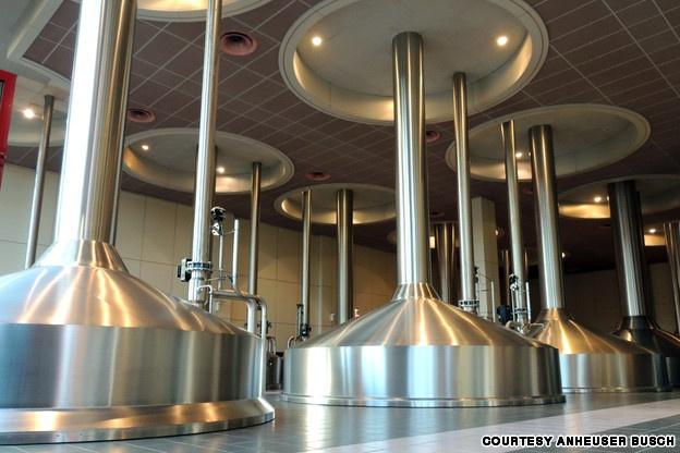 Lager: Stella Artois Brewery, Leuven, Belgium
