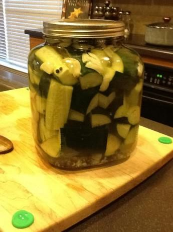 Kittencal's Easy Refrigerator Kosher Garlic-Dill Pickles. Photo by ...