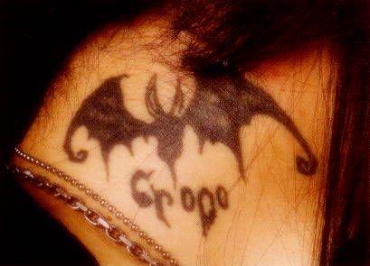 Kaoru's tattoos
