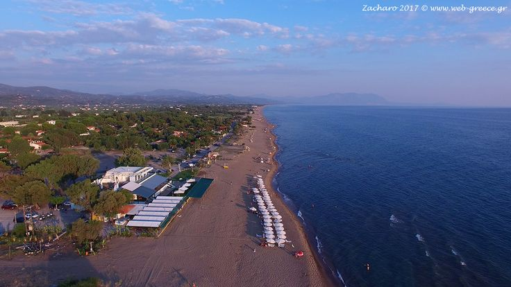 Beach of Zacharo village (19km) Ilia Peloponnese