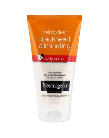 VISIBLY CLEAR® Blackhead Eliminating Daily Scrub | Neutrogena