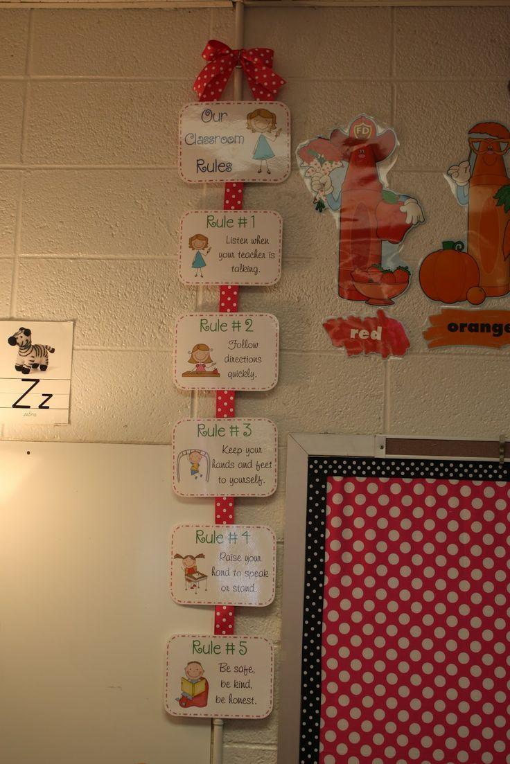 The Polka Dot Patch: Classroom Rules done using whole brain learning. Love them.