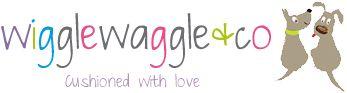 Handmade Cushions by Wiggle Waggle