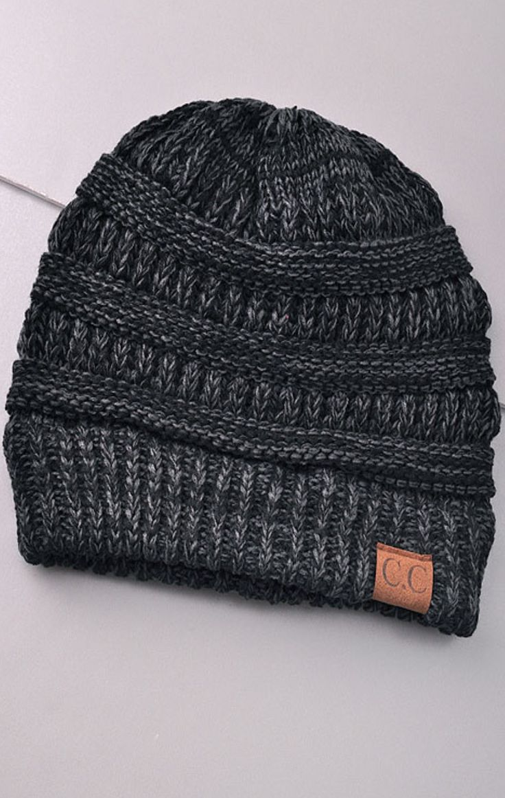 CC Lake Tahoe Beanie - Ash - Find the perfect dress for any occasion at ShopLuckyDuck.com