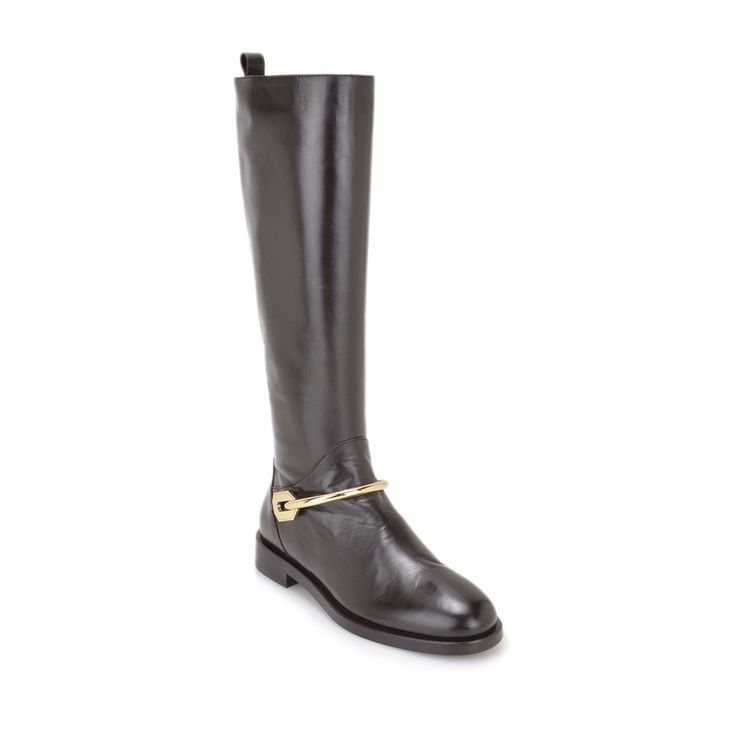 Franca Leather Boot by Bruno Magli