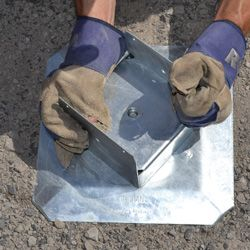 Titan Deck Foot - Ground Anchored Deck Footings In A Minute at DecksGo