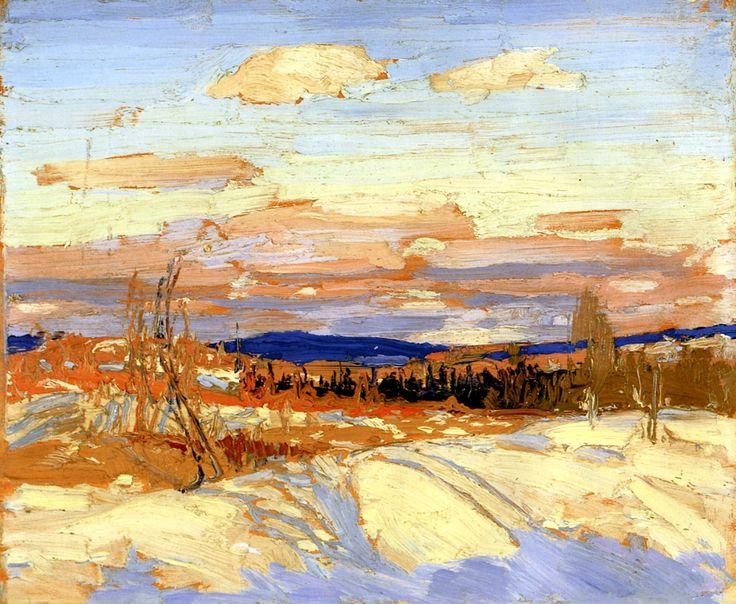 Winter/ Sketch for In Algonquin Park Tom Thomson - 1914