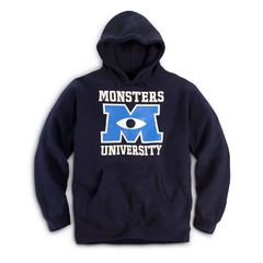 Hoodie Navy | Store | Monsters University