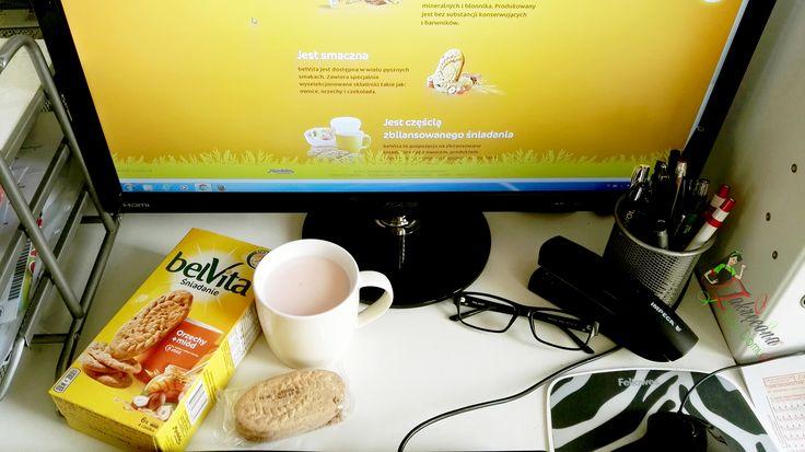 Dobrze rozpoczęty dzień ,trzeba zacząć się od pysznego śniadania .#żona #zakreconapanidomu #dlaMistrzówPoranka #belvita #streetcom