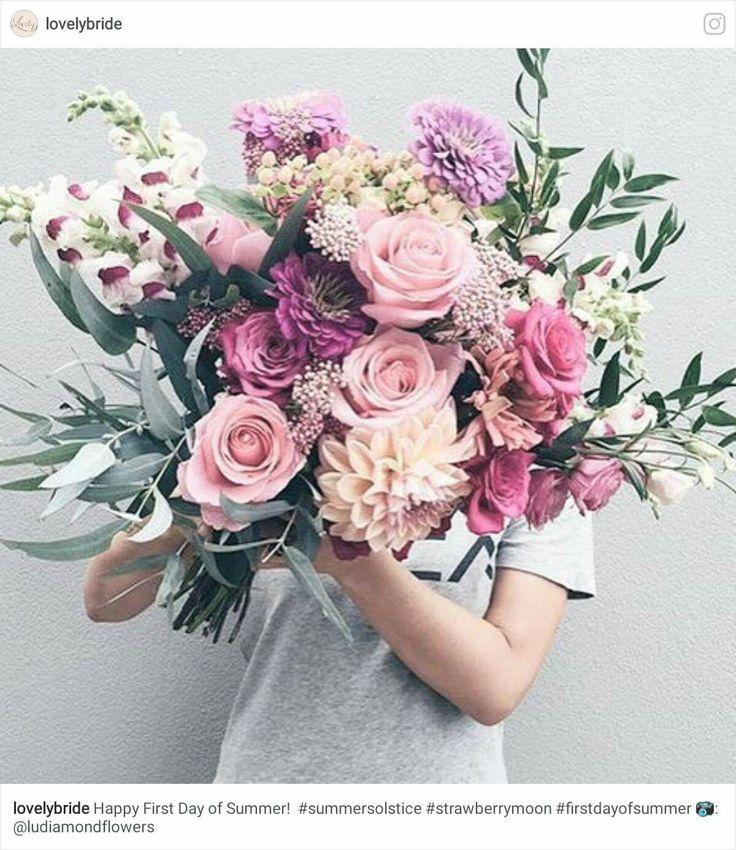 465 best Beautiful Bouquets images on Pinterest   Bridal bouquets ...