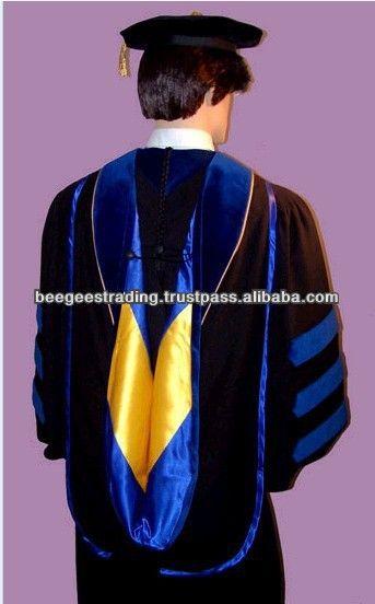 Master Degree Graduation Hoods