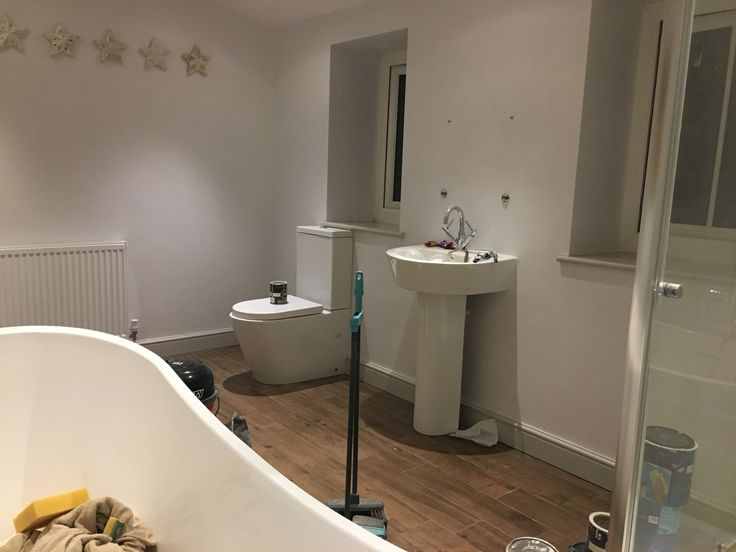 White Bathroom Littledigglehouse Cornforthwhite And Dulux Rock Salt White Bathroom