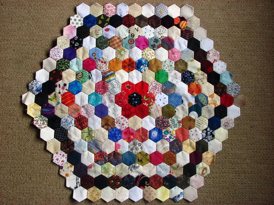 Image result for concentric circle quilt pattern