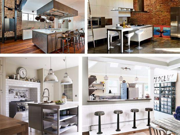Lo stile industriale per la cucina