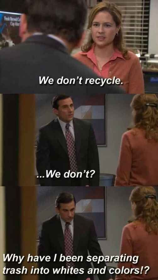 He cared about the environment. | Office humor, Office ...
