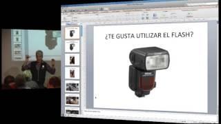 Strobist, fotografía con flash portátil., via YouTube.