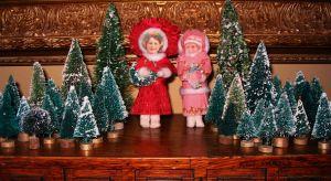 DIY: Spun cotton ornaments