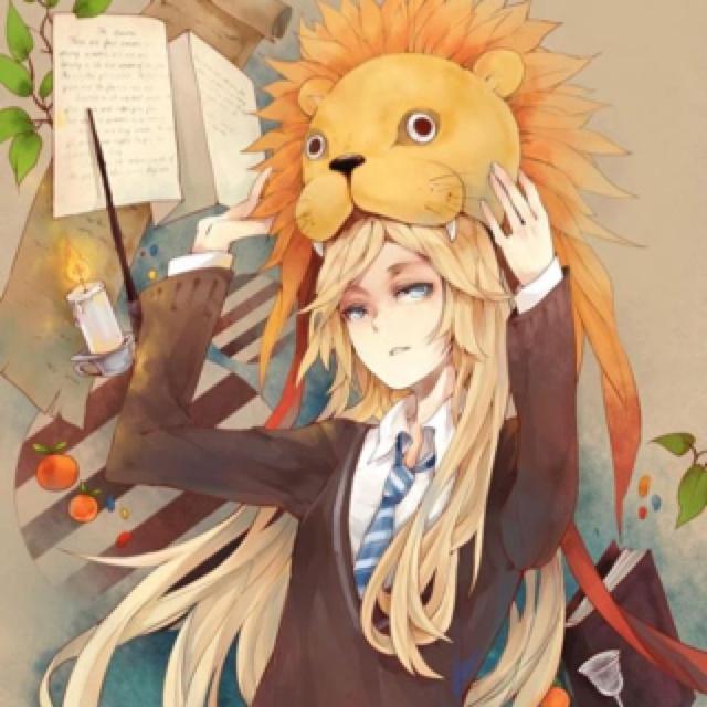 Luna Lovegood Anime style (Harry Potter, Ravenclaw