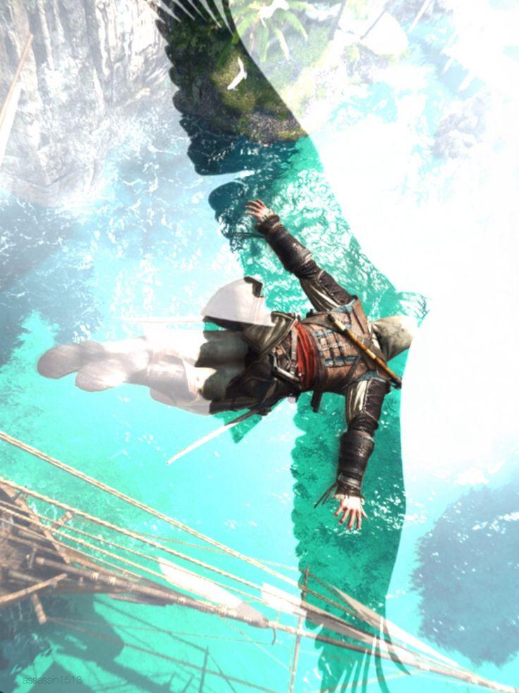 O salto da fé, você se sente como uma águia :)
