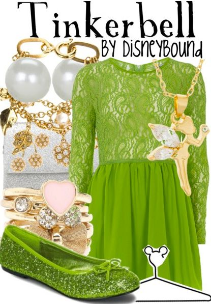 "Bridal Shower Dress Attire Idea: ""Tinkerbell"" by lalakay on Polyore"