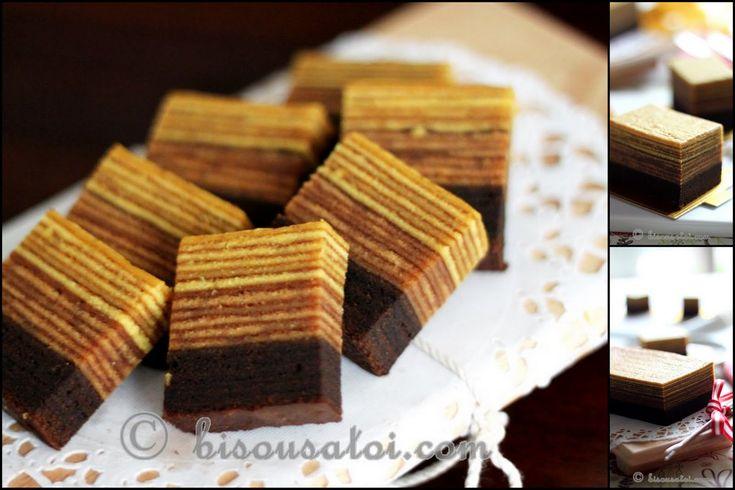 Bisous À Toi: Cocoa Mocha Layer Cake