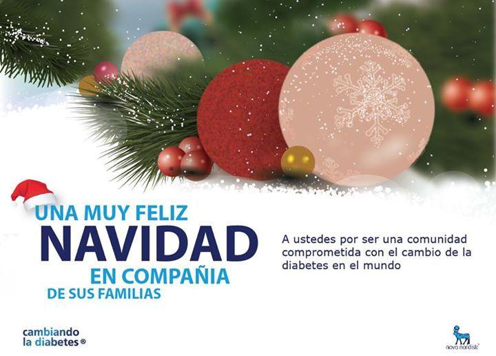 Una muy feliz #navidad a la comunidad que está #cambiandoladiabetes