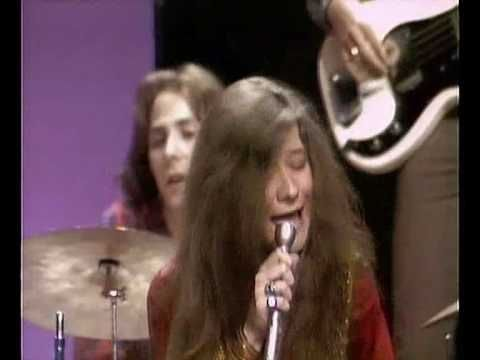 Janis Joplin - To love somebody. I was just a little girl but I can still appreciate a person w/ soul and love how she just lets go when she sings.