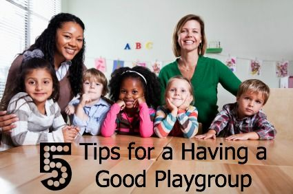 5 Tips for Having a Good Playgroup