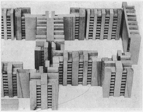 OSWALD MATHIAS UNGERSRESIDENTIAL BLOCK AT EICHHORSTER WEG / MÄRKISCHES VIERTEL IN BERLIN, 1967