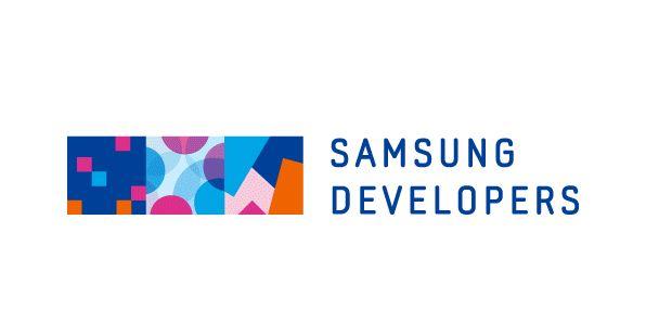 Samsung developers - interactive logo