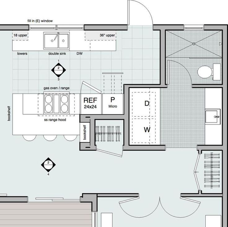modern by dylan chappell architects bathroom laundry room on combined bathroom laundry floor plans id=75099