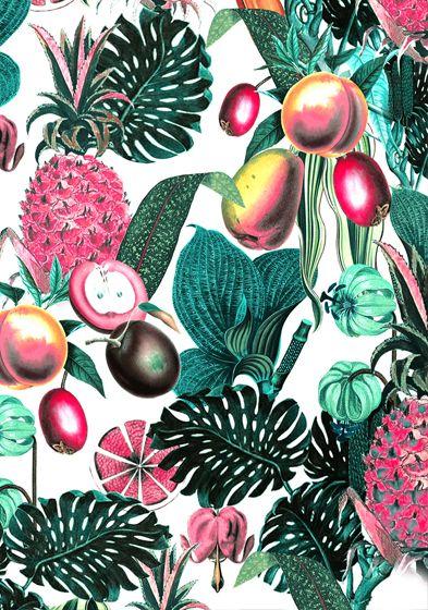 Tess Jacobson #tropical #flora #pattern