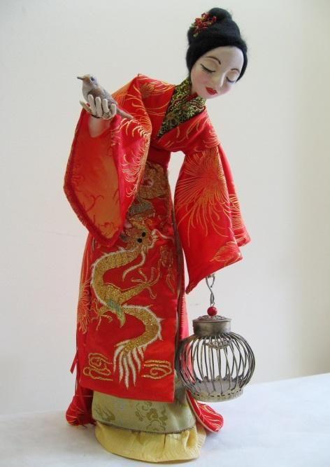 Asian Doll Art