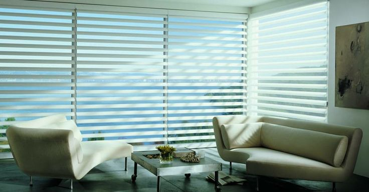 Living Room Window Covering from Lerner Interiors
