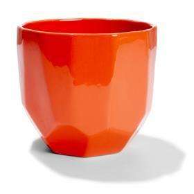 Geometric Pot Orange | Kmart