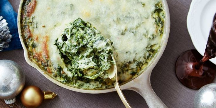 It's the most-searched-for holiday dish in Tennessee, and for good reason—this twist on creamed spinach is extra cheesy and has a slightly spicy kick.