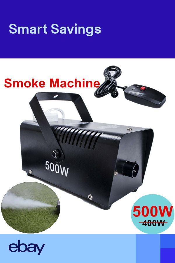 New Smoke Mist Fog Effect Machine Disco Club Halloween Remote CE Approved 500W