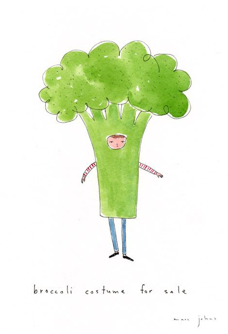 broccoli - Marc Johns