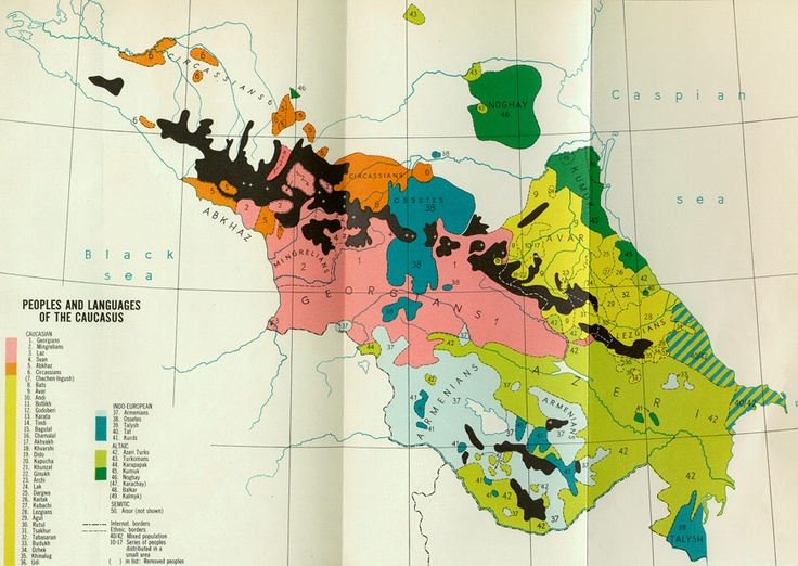 ethnography map