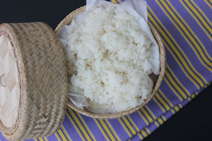 Ever want to know how to cook sticky rice in a microwave? This is so easy to make. a must try recipe. Pin now for later
