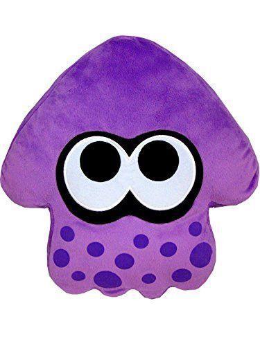 """New Splatoon Splatoon Squid 35cm Plush Stuffed Doll 1pcs- 14"""" Purple"""