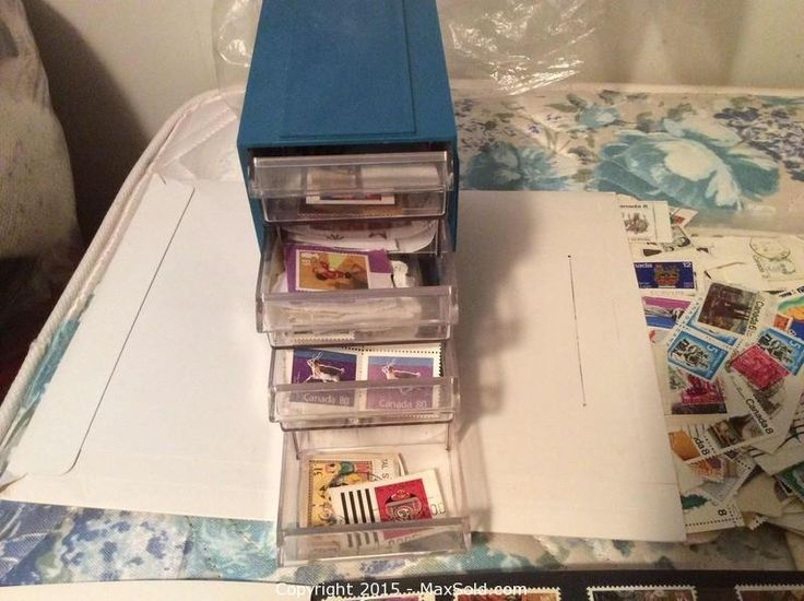 MaxSold - Auction: Peterborough (Ontario, Canada) SELLER MANAGED Downsizing Online Auction - Milburn St ITEM: Stamps