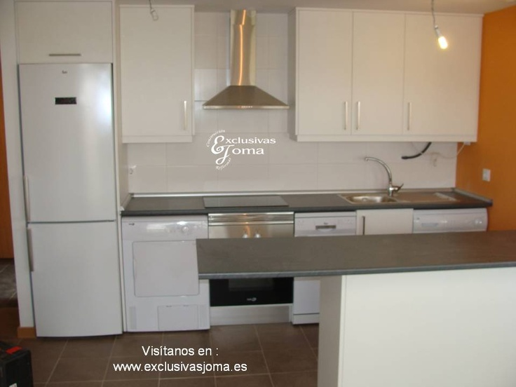 muebles de cocina a medida para las viviendas nuevas de tres cantos en la avenida castilla